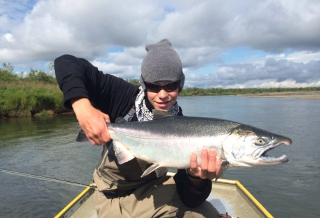 Silver Salmon at Alaska West