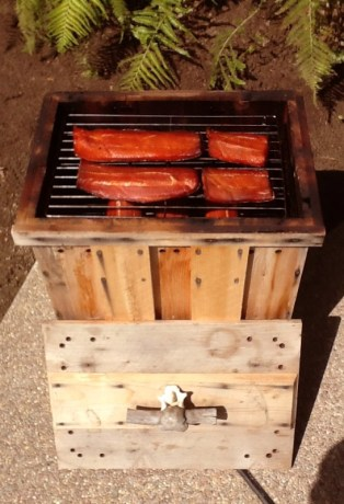 Smoked Salmon at Alaska West