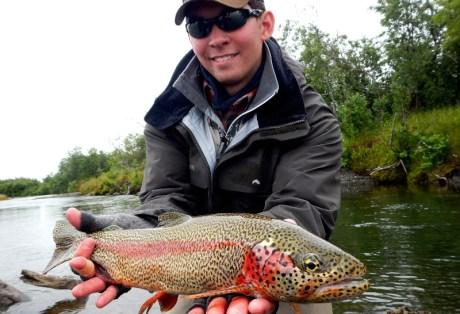 Leopard Rainbow from Alaska West
