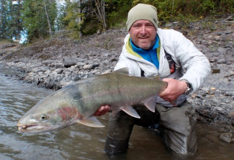 Steelhead on Dry Flies