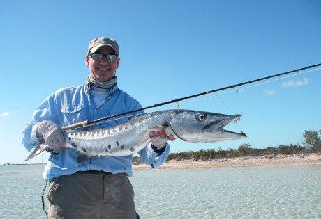 Fly Fishing for Barracuda