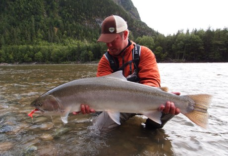 Steelhead fishing on the Dean River at BC West