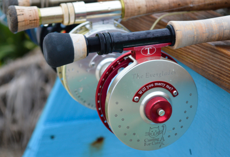 Fly Fishing Couples Proposal