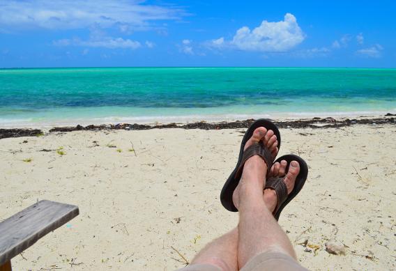 Simms Bone Flip Sandals Review