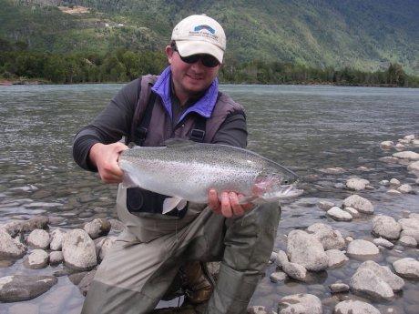 Chile Trout Fishing at Rio Salvaje Lodge