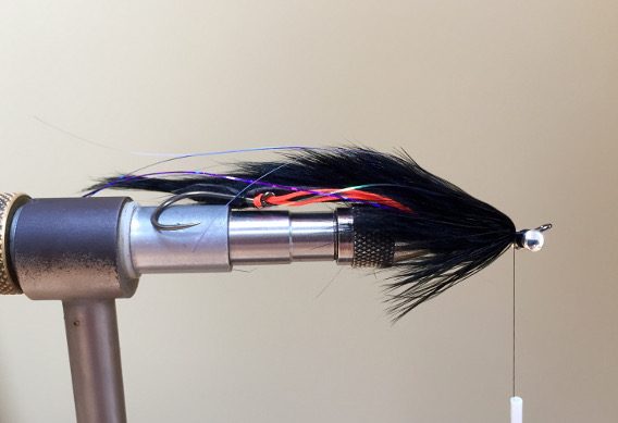 How to tie the Miles Davis Leech Steelhead Fly.