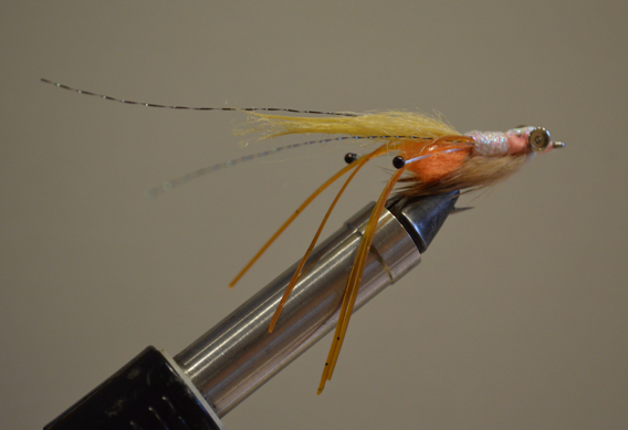 How to Tie Peterson's Spawning Shrimp Fly for Bonefish.