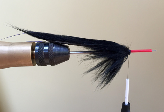 How to fie a tube fly leech