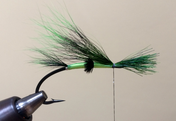 How to tie the Colburn Special salmon fly pattern.
