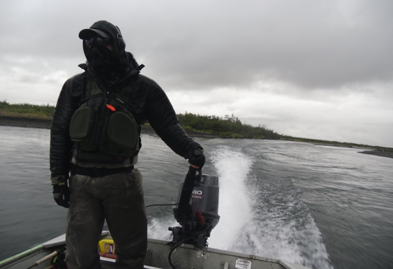 Driving Jet Boats in Western Alaska by Kyle Shea