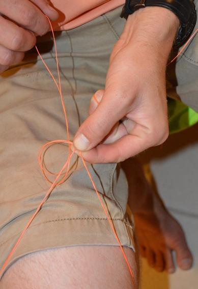 How to tie the Double Bimini Twist.