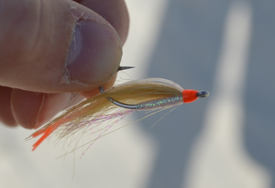 Shallow water fly patterns for bonefish.