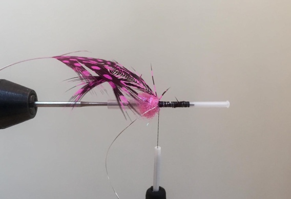How to tie the Hoh Bo Spey tube fly for steelhead.