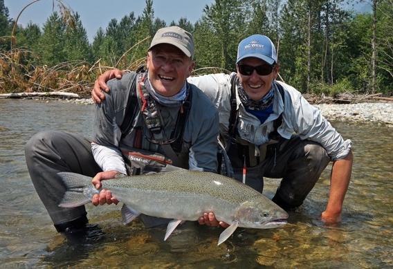 Spey Fishing for Dean River steelhead.