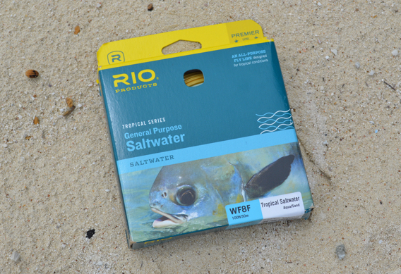 RIO General Purpose saltwater fly line review for bonefish.