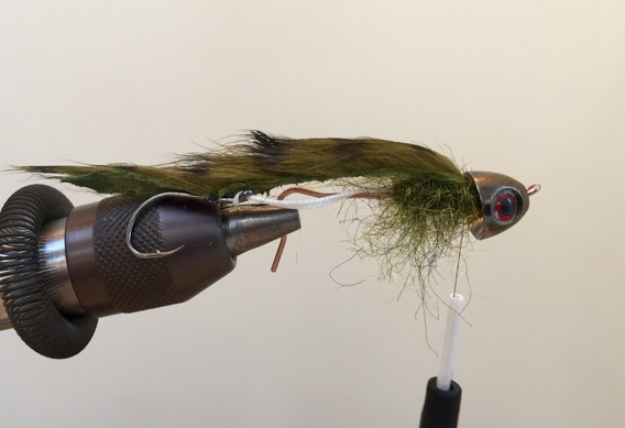 How to tie the Sculpzilla streamer fly for trout.