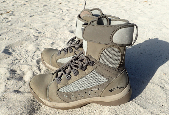 Orvis Andros Flats Hikers Flats Boots for Bonefishing.