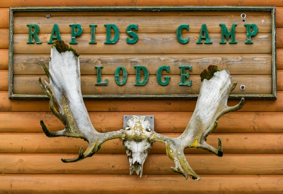 Fly Fishing at Rapids Camp Lodge by Abe Blair Photography.