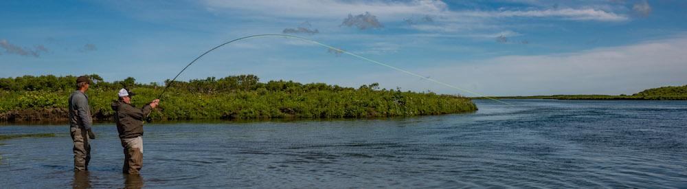 Rapids Camp Lodge Fishing