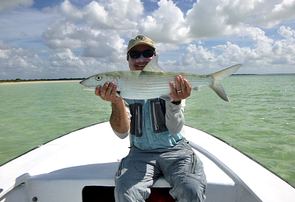 Ten Pound Bonefish from Andros South.