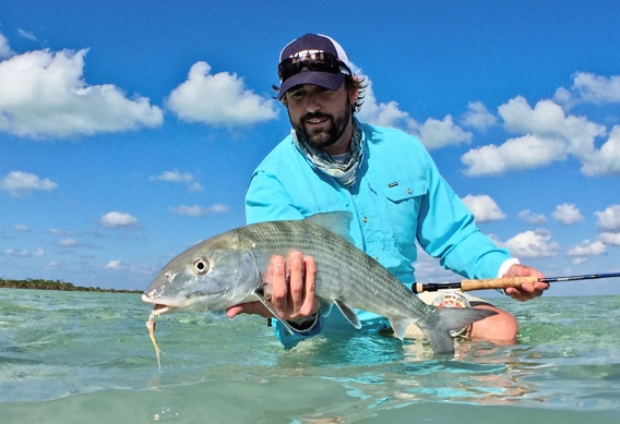 Double digit bonefish caught at Andros South.