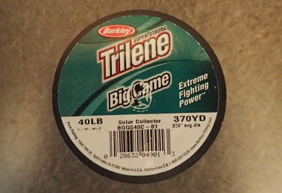 Berkeley Big Game Monofilament for spey running line