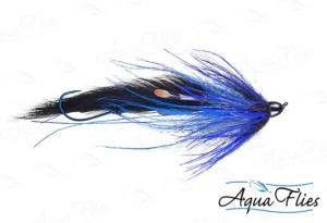 Jerry French's Dirty Hoh Chinook fly by Aqua Flies