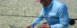 Exterus fishing clothing for the flats