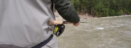 Wear your wading belt