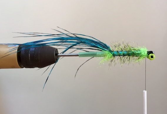 Ed Ward style hackle bodied intruder tying instructions