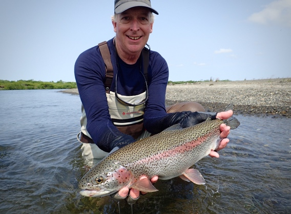 big leopard rainbow trout