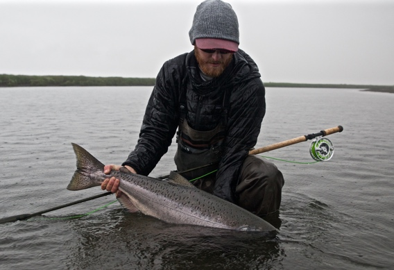 G. Loomis NRX Scandi for king salmon
