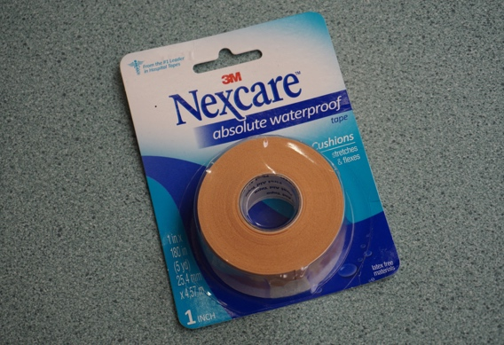 Nexcare absolute waterproof tape for anglers