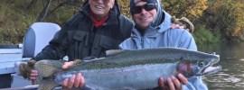 Naknek trout at Rapids Camp Lodge