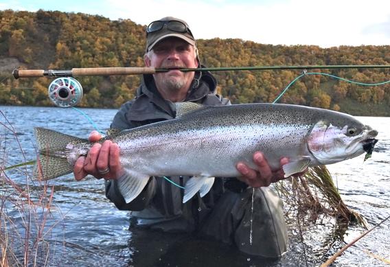 Big Naknek rainbow trout