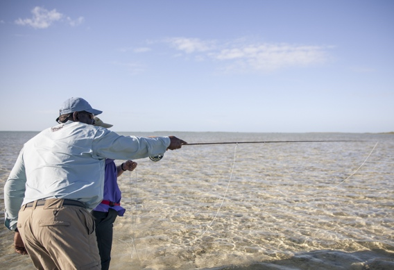 Spotting bonefish by Hollis Bennett