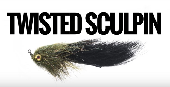 Fred Telleen's twisted sculpin fly pattern