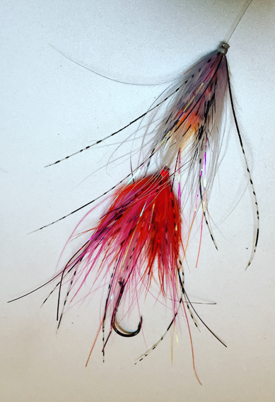 Stacking tube flies for steelhead and salmon