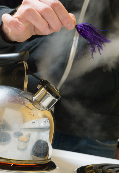Rejuvenating old flies with steam