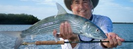 Big bonefish caught by Chris Wilks at Andros South