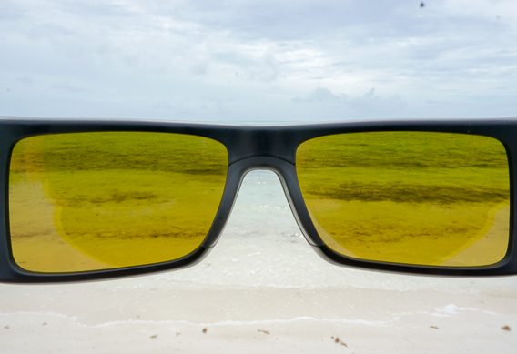 Costa sunrise silver mirror lenses