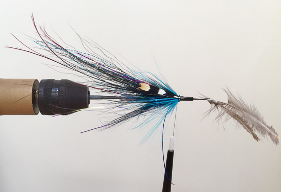 fly tying tip- anchoring jungle cock eyes-6
