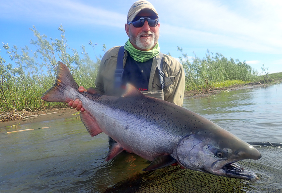 Spey fishing for kings