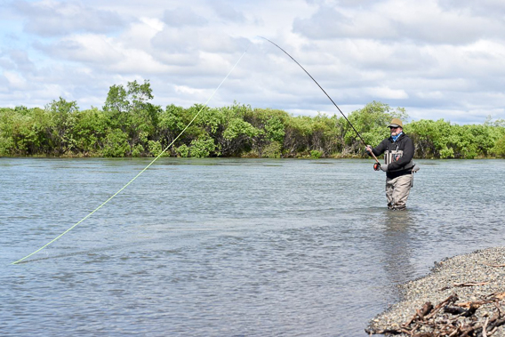 spey fishing- stuart foxall on adjusting overhang