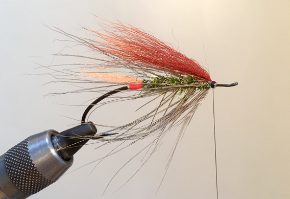 How to tie the lady caroline steelhead fly with modern materials-14