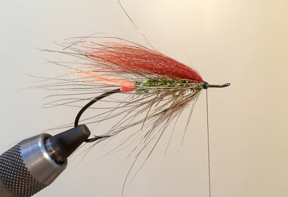 How to tie the lady caroline steelhead fly with modern materials-15