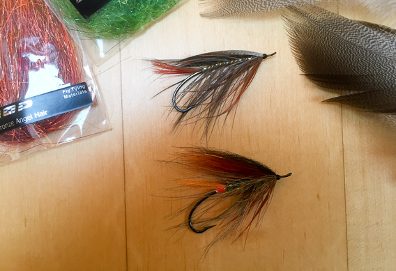 How to tie the lady caroline steelhead fly with modern materials-18