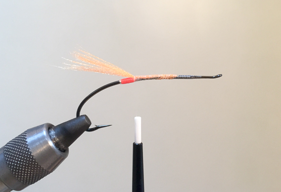 How to tie the lady caroline steelhead fly with modern materials-4