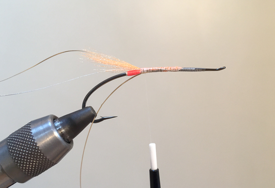 How to tie the lady caroline steelhead fly with modern materials-5
