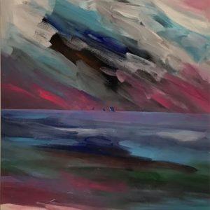 Merton Clivette Seascape Clouds image